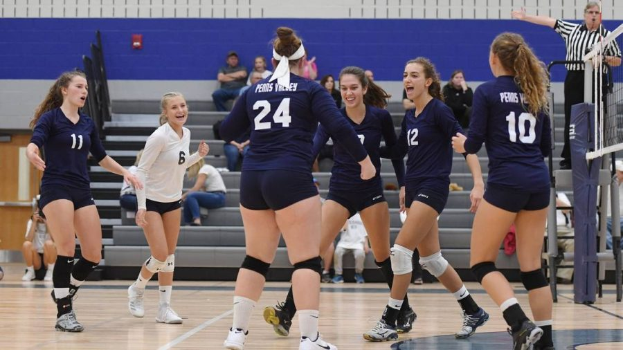 Penns Valley Girls Volleyball Interview