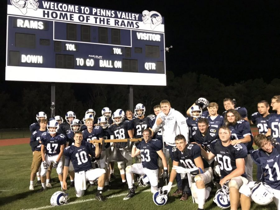 The Penns Valley Rams enter the second half of their season with a game record of 4-1.