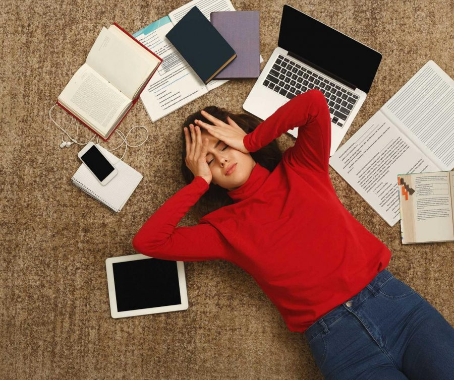 How Much Stress does Schoolwork put on Teenagers?