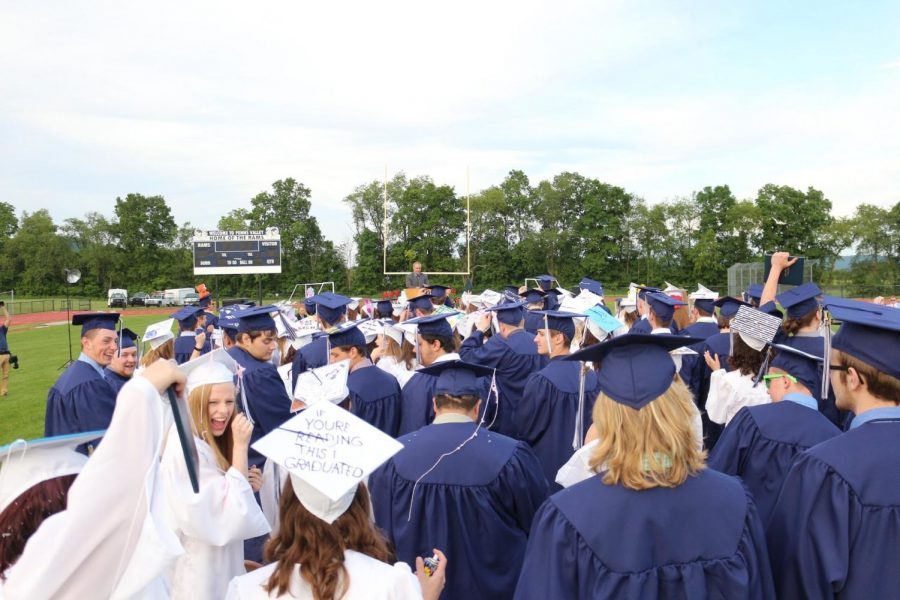 Penns Valley's class of 2019.