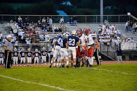 The Bellefonte Red Raiders and the Penns Valley Rams are long-time rivals on the football field