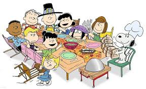 It's almost Thanksgiving, Charlie Brown!
