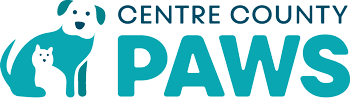 Centre County Paws logo
