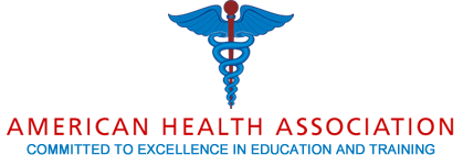 The American Health Association logo