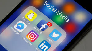 Social media apps like these are just a few examples of the ones used by teenagers daily.