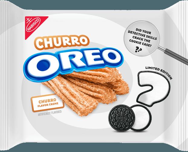 The+2019+Mystery+Oreo+Flavor+was+churro.+