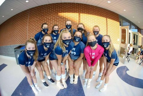Penns Valley Girls Volleyball Setting Milestones!