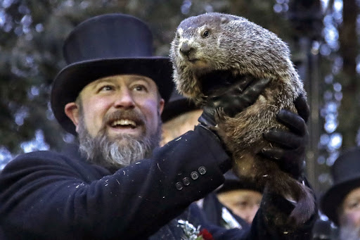 This picture is from the movie 'Groundhog Day'