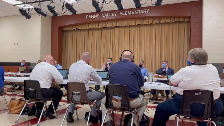 Board meeting for PVHS